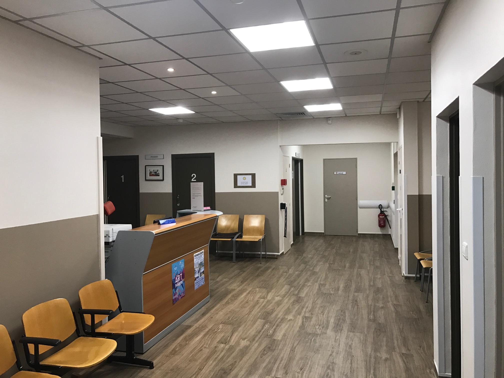 Salle d'attente TrueBeam - CFJ